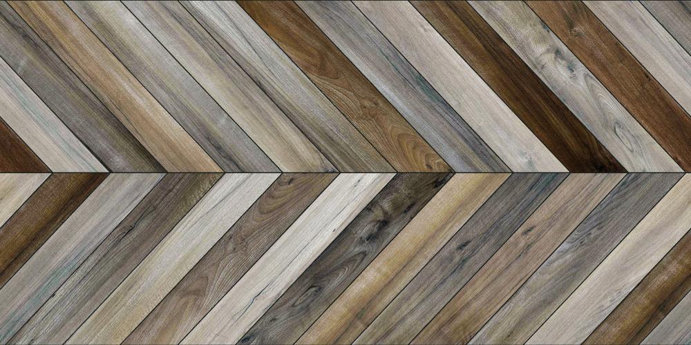 chevron floor (not herringbone floor)
